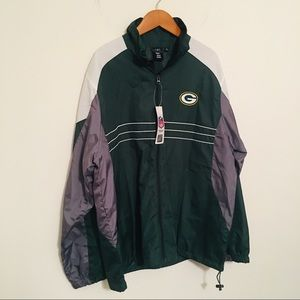 NFL Packers Windbreaker
